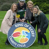 Kerry Rape and Sexual Abuse Centre named as one of the Ring of Kerry Charity Cycle Benefactors